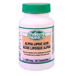 ALPHA LIPOIC ACID - 100 mg - 69,00 lei