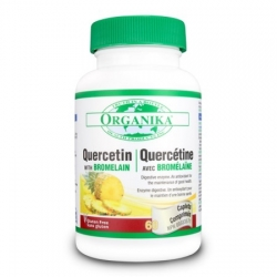 QUERCETIN  BIOACTIVE - 500 mg/60 cps - 91,00 lei
